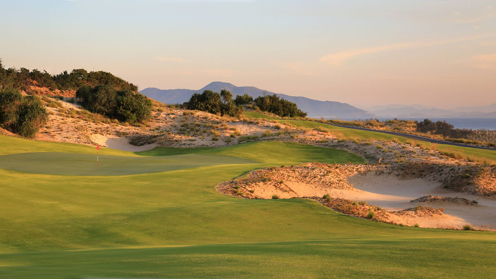 The 12th hole at KN Golf Links Cam Ranh