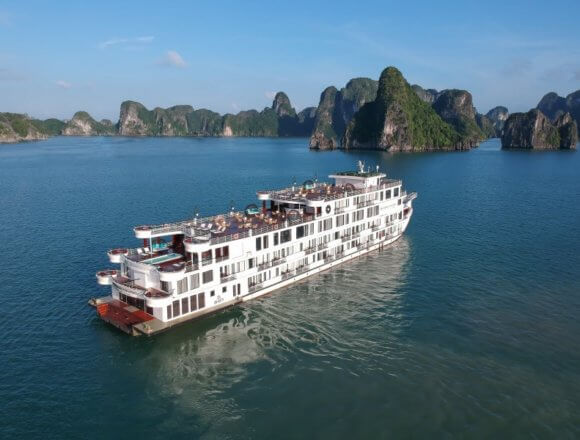 Halong Bay's Largest Five-Star Cruise Celebrates Maiden Voyage