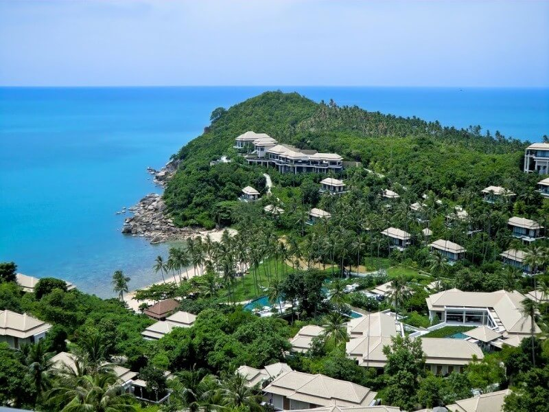 Banyan Tree is a luxury resort situated in the southeastern corner of Koh Samui